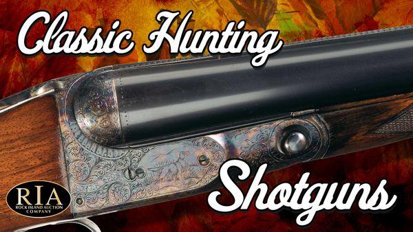 Classic Shotguns for Fall Hunting