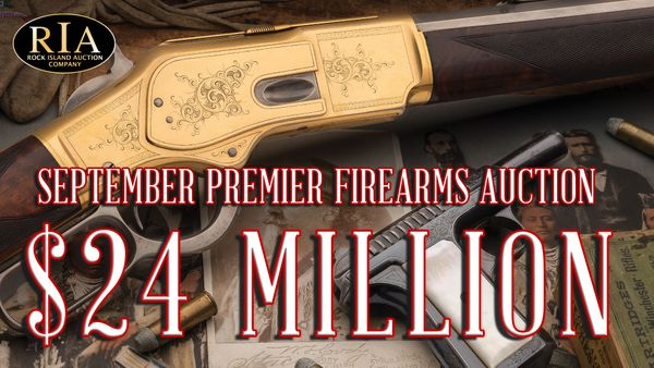 Second Largest Firearms Auction EVER draws over $24 MILLION