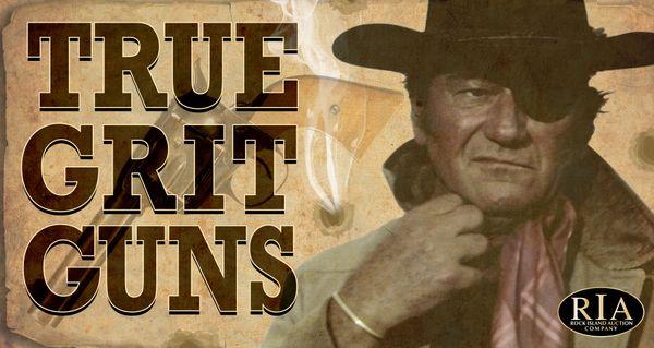 John Wayne's True Grit Revolver